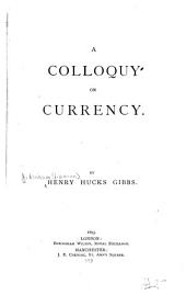 A Colloquy on Currency