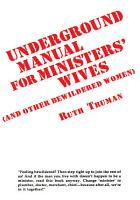 Underground Manual for Ministers  Wives PDF