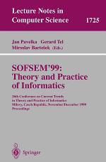 SOFSEM'99: Theory and Practice of Informatics