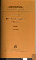 Deutsches etymologisches W  rterbuch PDF