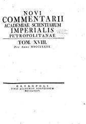 Mémoires: Volume 18
