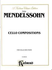 Cello Compositions: String - Cello and Piano