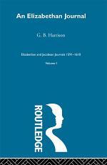An Elizabethan Journal