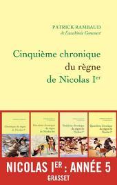 Cinquième chronique du règne de Nicolas Ier