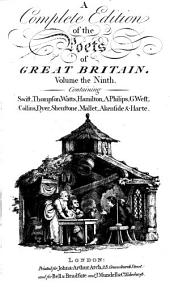 A complete edition of the poets of Great Britain...Robert Anderson