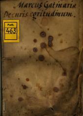 De curis egritudinum particularium Noni Almansoris Practica