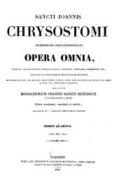 Patrologiæ cursus completus: Series tertia, Volumes 4-5