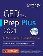 GED Test Prep Plus 2021