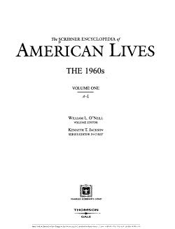The Scribner Encyclopedia of American Lives PDF