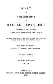 Diary and Correspondence of Samuel Pepys, F.R.S.