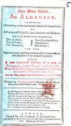 Old Poor Robin Book PDF