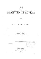 De dramatische werken: Volume 1