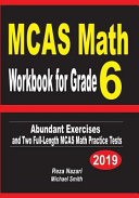 McAs Math Workbook for Grade 6: Abundant Exercises and Two Full-Length McAs Math Practice Tests