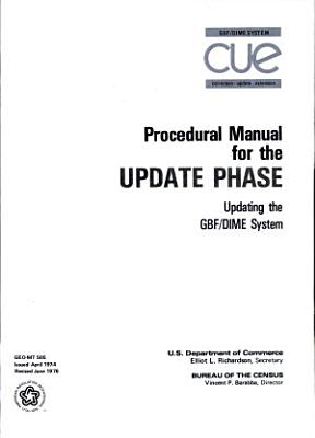 Procedure manual for the update phase  updating the GBF DIME system