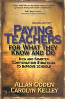 Paying Teachers for What They Know and Do PDF