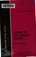 Labour in the Affluent Society