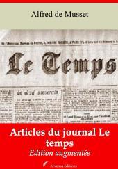 Articles du journal Le temps: Nouvelle édition augmentée