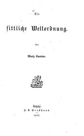 Die sittliche Weltordnung PDF