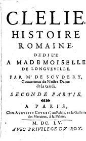 Clélie: histoire romaine, Volume3