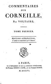 Commentaires sur Corneille: Volume1