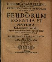 De feudorum essentia et natura
