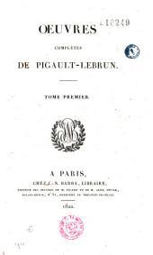 Oeuvres complètes de Pigault-Lebrun