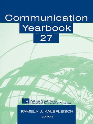 Communication Yearbook 27 PDF