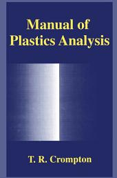 Manual of Plastics Analysis