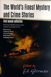 The World's Finest Mystery and Crime Stories: 1: First Annual Collection