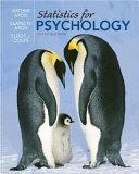 Statistics for Psychology PDF