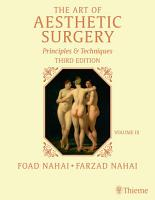 The Art of Aesthetic Surgery  Breast and Body Surgery   Volume 3  Third Edition PDF