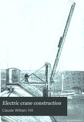 Electric crane construction