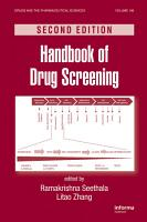 Handbook of Drug Screening PDF