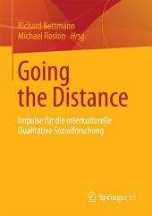 Going the Distance: Impulse für die interkulturelle Qualitative Sozialforschung
