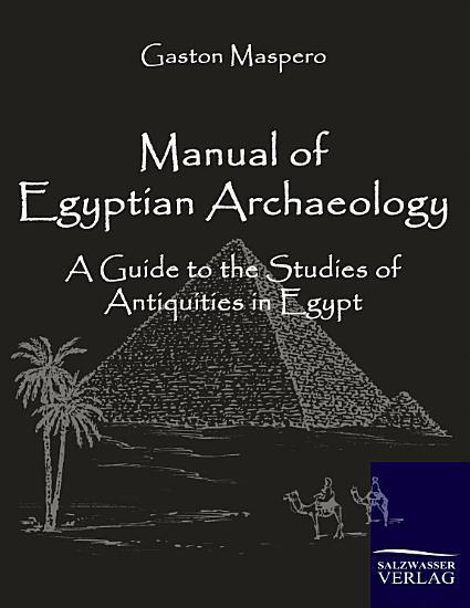 Manual of Egyptian Archaeology PDF