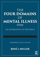 The Four Domains of Mental Illness PDF