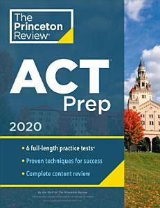 Cracking the ACT with 6 Practice Tests Book