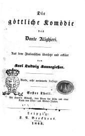 Die göttliche Komödie des Dante Alighieri: Band 1