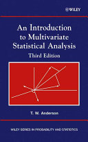 An Introduction to Multivariate Statistical Analysis