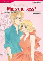 WHO'S THE BOSS?: Harlequin Comics Bundle