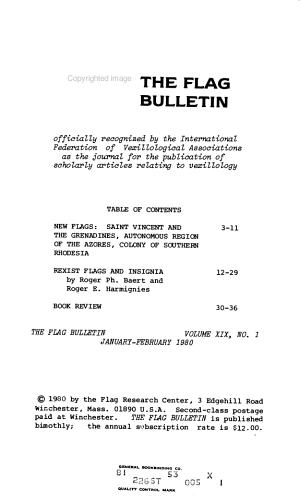The Flag Bulletin