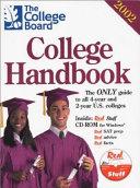 The College Board College Handbook  2002 PDF