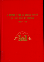 A history of the Los Angeles District, U.S. Army Corps of Engineers, 1898-1965