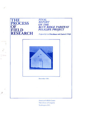 The Process of Field Research PDF