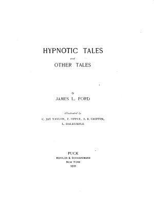 Hypnotic Tales  and Other Tales PDF