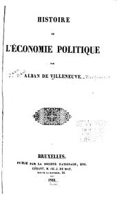 Histoire de l'économie politique