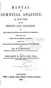 Manual of Technical Analysis PDF