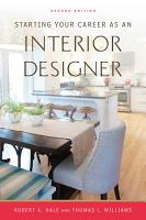 Starting Your Career as an Interior Designer PDF