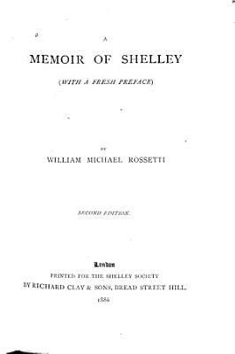 A Memoir of Shelley PDF