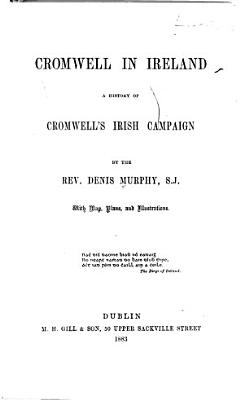 Cromwell in Ireland PDF